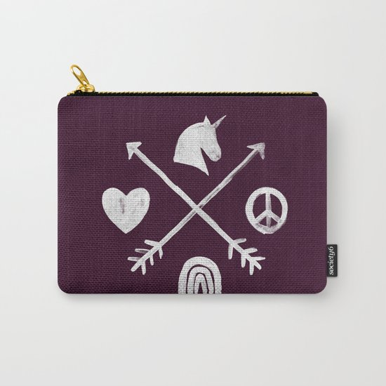 Sugar and Spice Compass Carry-All Pouch