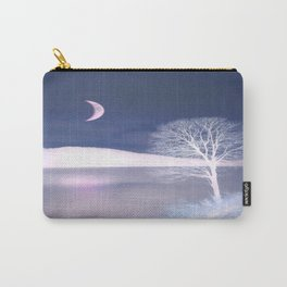 Moon night on the lake Carry-All Pouch
