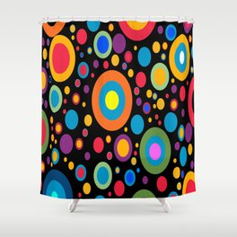 Completely Dotty Shower Curtain