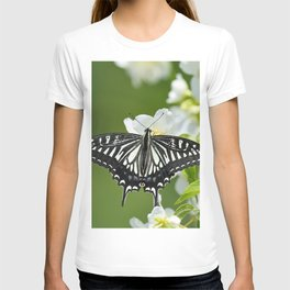 Butterfly And Flower T-shirt