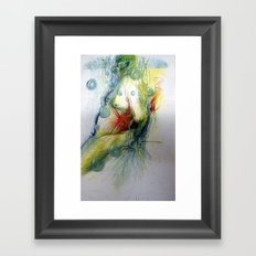 Klooster Series: Male Nude Arie Framed Art Print