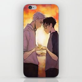 Viktor and Yuuri iPhone Skin
