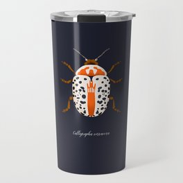 Calligrapha Beetle Travel Mug