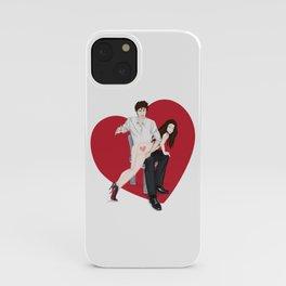 spanky panky (white) iPhone Case