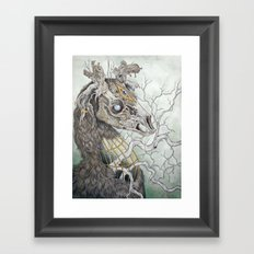 Forgotten Haunts, as a print Framed Art Print