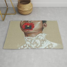 Love-in-idleness Rug