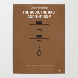 No090 My The Good The Bad The Ugly MMP Poster