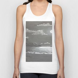 Quiet Night Unisex Tank Top
