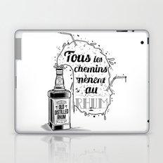 Tous les chemins... Laptop & iPad Skin