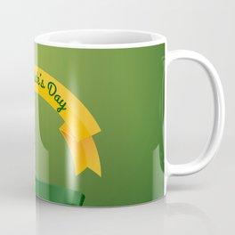 St Patrick's Day Leprechaun Hat Lucky Coffee Mug