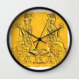 Goddess (4) Wall Clock