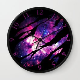 Deep Space Inside Wall Clock