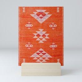 Vintage Orange Anthropologie Moroccan Artwork. Mini Art Print