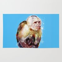 monkey Area & Throw Rugs featuring Monkey by beart24