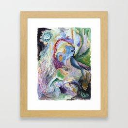 Cry for Spring Framed Art Print