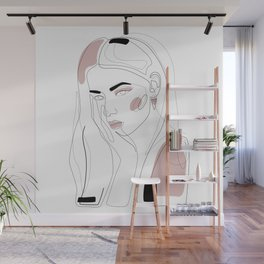 In Blush Wall Mural