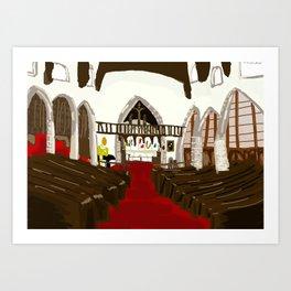 St Marys Church Art Print