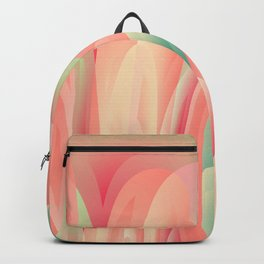 Abstract color harmony Backpack