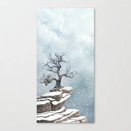 Wrapped in silence - Skyscapes and horizons Canvas Print