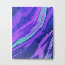 Water Opal Metal Print