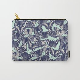 butterfly pale mint Carry-All Pouch