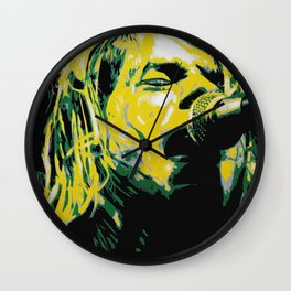 COBAIN UNPLUGGED Wall Clock