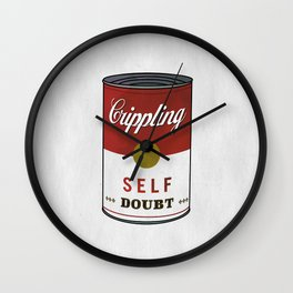 Crippling Self Doubt Wall Clock