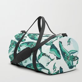 Coral Reef Humpback Whale Duffle Bag
