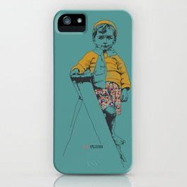 the ladder Boy iPhone Case