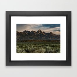 Teton Morning Framed Art Print