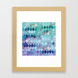 SUMMER MERMAID II Framed Art Print