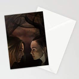 I'm so so sorry // our demons are alike // abby & raven Stationery Cards
