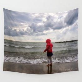 Beach Girl Wall Tapestry