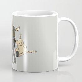 Jurassic Pugs Coffee Mug