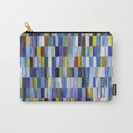 Unmixed Rectangles Carry-All Pouch