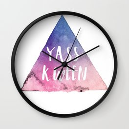 Yass Kween Wall Clock