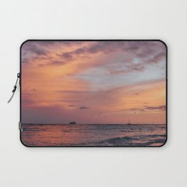 Cotten Candy Sunset Laptop Sleeve