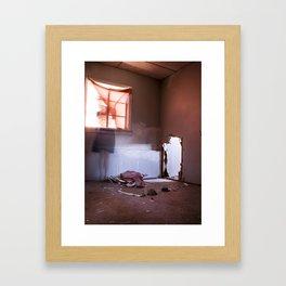 Impasse - Hole Framed Art Print