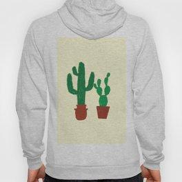 cactus in pot Hoody