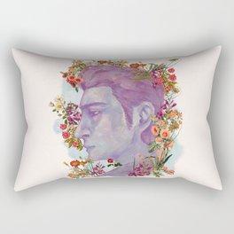 STURDMAN WITH FLOWER DECORATION Rectangular Pillow