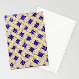 Blueberry Pie Stationery Cards