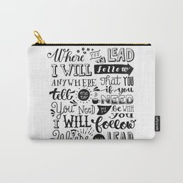 Where You Lead | Gilmore Girls Carry-All Pouch