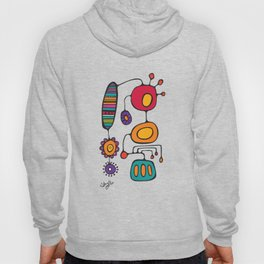 Feather Flower Chime in Color Hoody