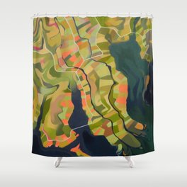 Estuary Shower Curtain