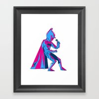 The Dark Knight Rocks Framed Art Print