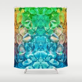 Awesome Lava Rock Explosion Shower Curtain