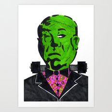 Hitchenstein Art Print