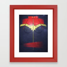 Call me Captain  Framed Art Print