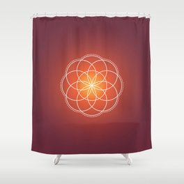 Seed of Life Shower Curtain