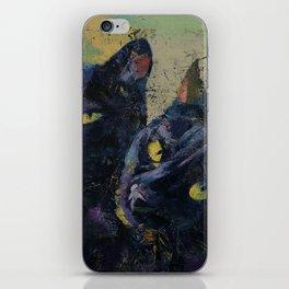 Black Cats iPhone Skin